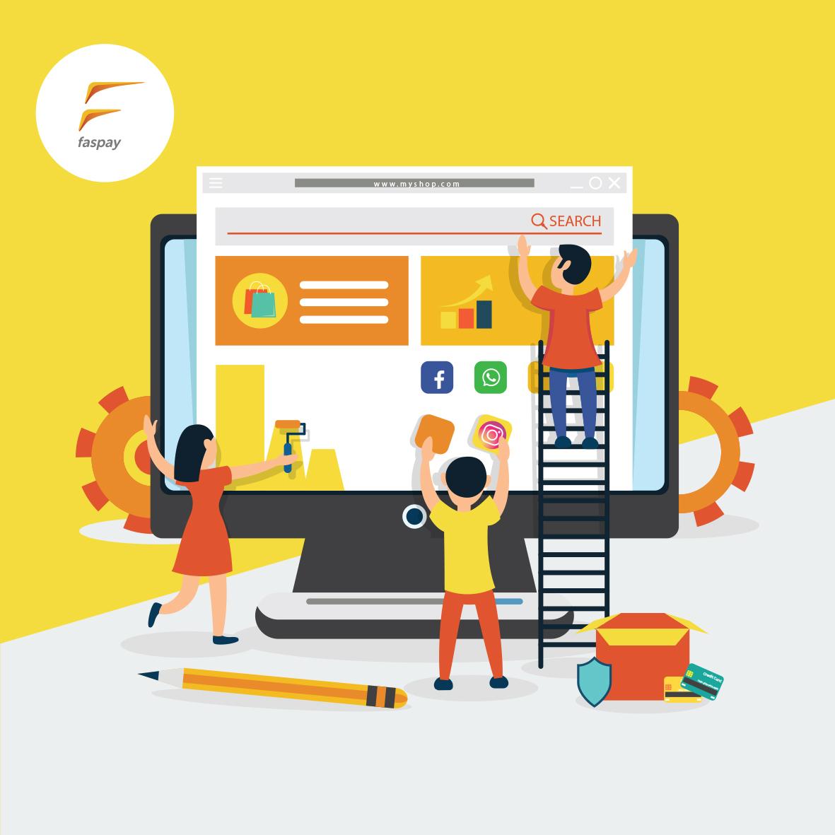 Image result for Kemudahan Sistem Pembayaran Online Hotel Faspay