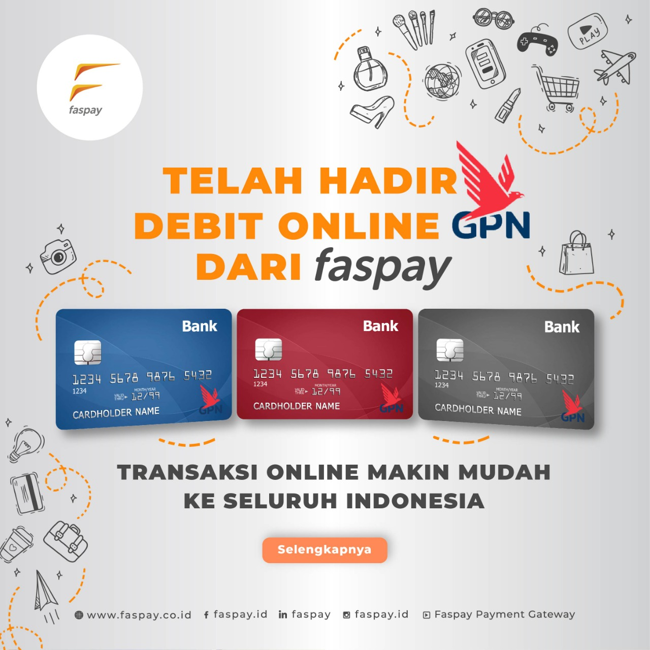 Mudahnya Bertransaksi Dengan Kartu Debit Online Berlogo B Secure Channel Pembayaran Terbaru Di Faspay Faspay